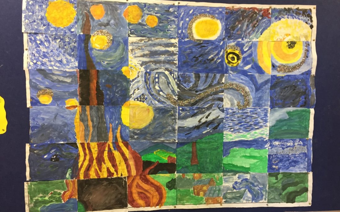 A Collaborative Van Gogh