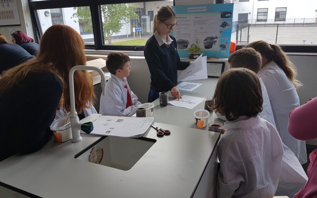 Science visit to the NCC Lab